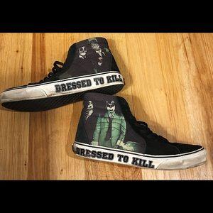 Rare KISS Dressed To Kill Vans Sk8-Hi M 9 / W 10.5